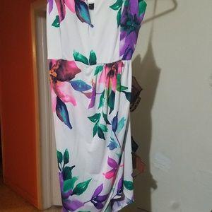Trac Floral Print Dress